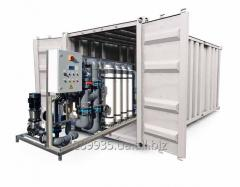 Units modular for water purification