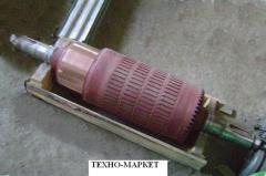 Якорь электродвигателя ДПЭ-52(два конца вала) на