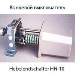 HN-10 концевой выключатель. Hebelendschalter...