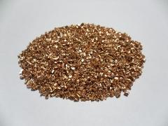 We realize copper granulate