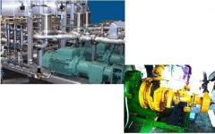 The equipment on processing, cleanings, oil - the