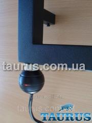 Чёрный электроТЭН для полотенцесушителя REG2