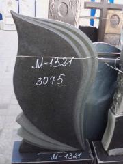 Памятник гранит черный