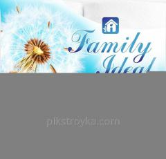 Towel paper Family ideal 2pcs 1/16
