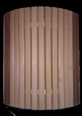 Ограждение светильника угловое с термовставко