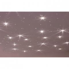 Комплект светильников Cariitti Звездное небо - Crystal Star хром, с мерцанием/синим мерцанием