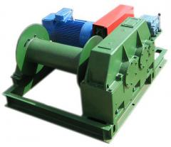 Pulling electric winches-7A-1Promreduktor