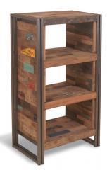 Полки, этажерки, шкафы в стиле лофт из