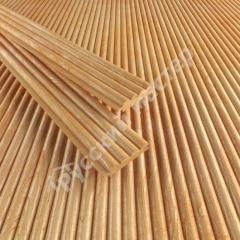 Деревянные обои Волна, лиственница Экстра