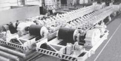 Конвейер ленточный катучий тип КЛК 120100-140 для загрузки сыпучих материалов в агломерационные машины аглофабрик, металлургических комбинатов, агломерационно-обжиговое оборудование, пр-во Днепротяжмаш, Украина