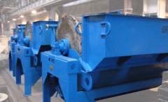 Сепараторы магнитные барабанные тип ПМБ-ПП-90/250 для мокрого обогащения сильномагнитных руд и регенерации ферромагнитных суспензий, горно-обогатительное оборудование, пр-во Днепротяжмаш, Украина