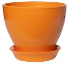 Горщик керамічний для квітучих рослин Wild Orange