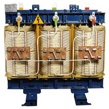 Transformers are power dry single-phase