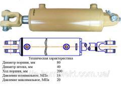 Гидроцилиндр ГЦ-80.40.200.0.00.22