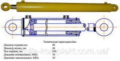 Гидроцилиндр кун 0,8 ;-10 (ГЦ-80.40.400.000.00)
