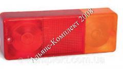 Стекло пластмассовое фонаря заднего Ф-401 МТЗ