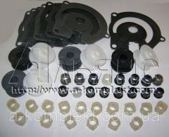 Комплект пластмассовых изделий сеялки СУПН-8