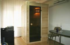 Saunas are assembly