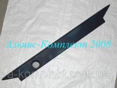 Бак радиатора нижний К-701 (металл.)