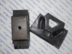 Подушка опоры двигателя ЗИЛ-5301 (бычок)