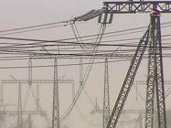 High-voltage overhead power lines