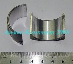 Вкладыш шатунный компрессора ЗИЛ, Т-150, КамАЗ (Р2)