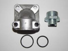 Set the flange НШ-50 (fitting hinged...
