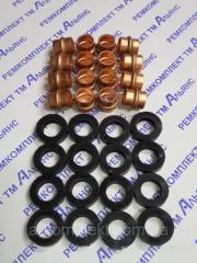 Набор трубок с уплотнением головки (медь+РТИ) Т-130, Т-170