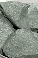 Жадеит колотый средний 10 кг для бани и сауны