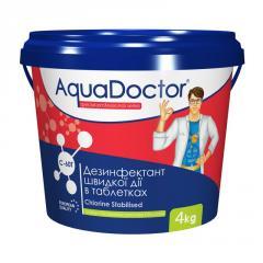 Chlorine-based disinfectant quick step AquaDoctor
