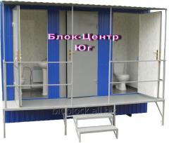 Санитарный туалетный модуль  контейнер...