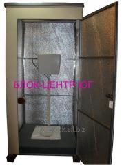 Кабина туалет утепленная стационарная ТК-3 с чашей
