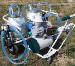 Агрегаты вакуумные для машинного доения коров