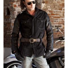 Джинсовая стильная легкая мотокурточка