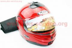 Шлем закрытый с откидным подбородком HF-108 M-