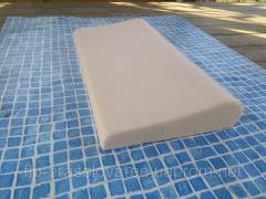 Копинговый камень для борта бассейна 250х500 мм