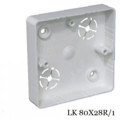 Коробка приборная KOPOS LK 80X28R/1, дуб