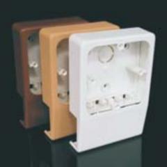 Прибороноситель для канала LHD 40х20, цвет- бук, PN 40х20 I1 Копос