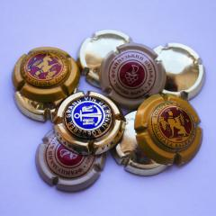 Cork plaquettes with a logo, production,