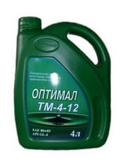 Transmission oil Optimal TM 4-12 80W85 4 l