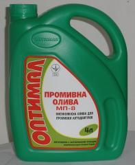 Car flushing oil Optimal MP-8 4 l.