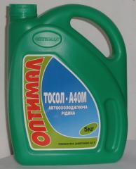 Жидкость охлаждающая Тосол А-40 канистра 5л