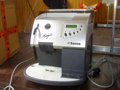 I will sell the SECOND-HAND coffee machine (coffee