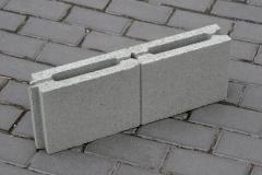 Slag stone peregorodochny 80kh190kh500mm