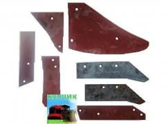 Spare parts to plows