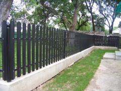 Barriers from a metaloshtakhetnik