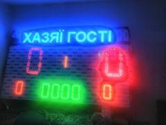 Спортивное табло для футбола
