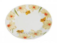 Plate dessert 19 cm = 7.5 ceramic Flower nectar S&T 1/1