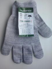 Рабочие перчатки без ПВХ точки 13 класс