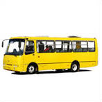 The bus city a small class Bogdan of A092,